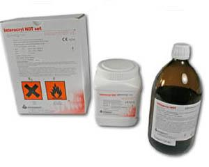 Interdent - INTERACRYL HOT  sada